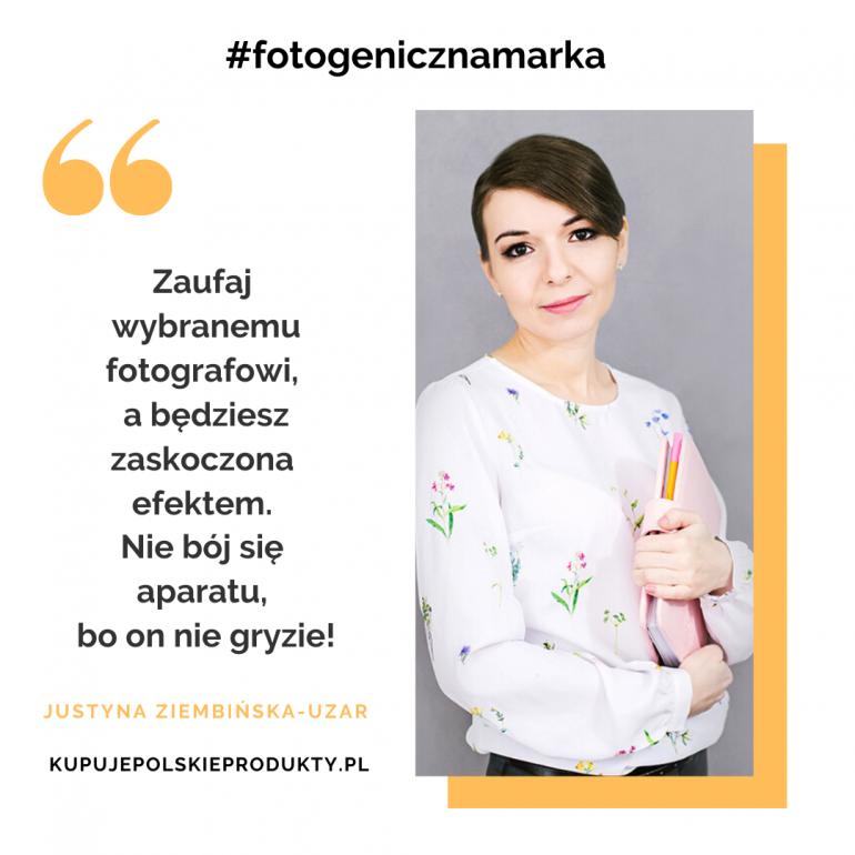 Fotogeniczna marka: Kupuję Polskie Produkty – Justyna Ziembińska-Uzar