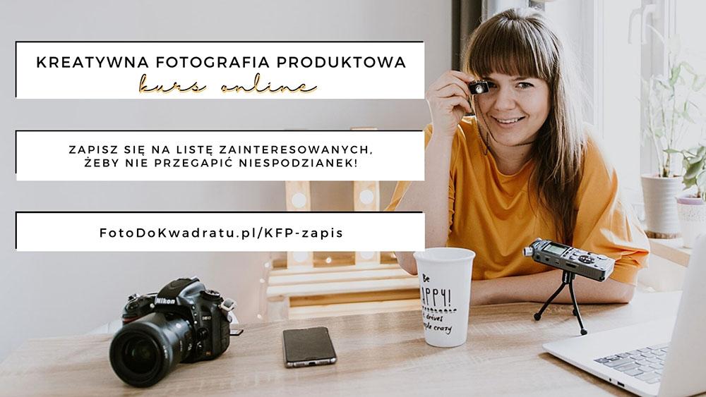 kreatywna fotografia produktowa kurs online